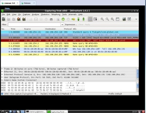 Wireshark-dnsquery