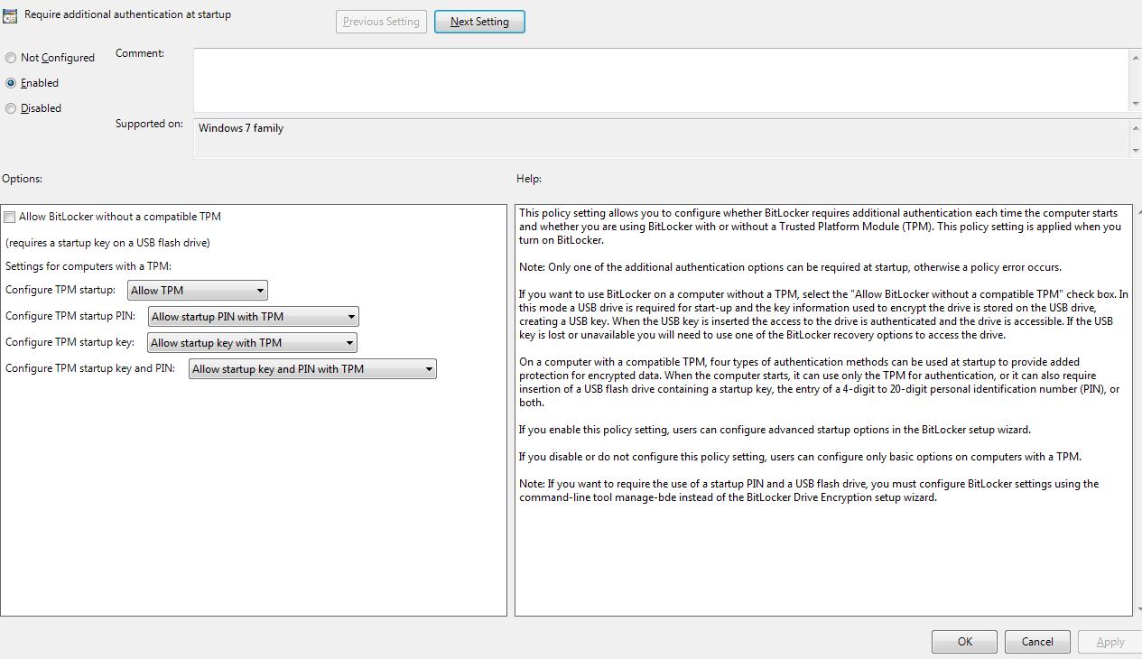 Manage tpm command line - Tpm Step4