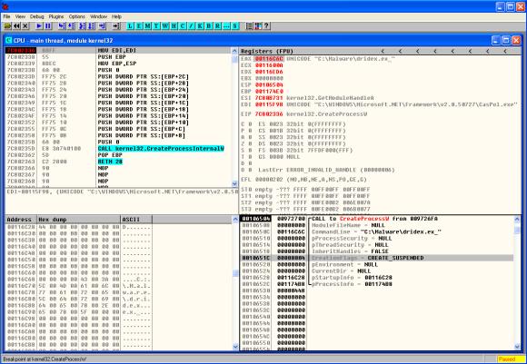 dridex-createprocessw